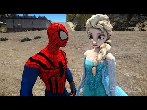 Spiderman dating elsa