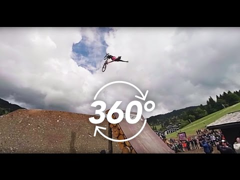 [360] Crankworx Les Gets 2016 tour in VR with Cam McCaul