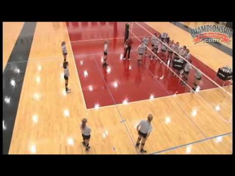 volleyball 4 2 offense diagram 2000 yamaha r6 headlight wiring learn the benefits of offensive system youtube