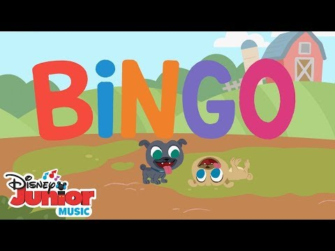 Bingo 🐶  | 🎼  Disney Junior Music Nursery Rhymes | Disney Junior