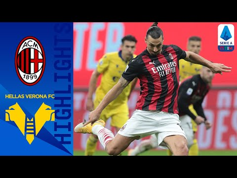 AC Milan Helas Verona Goals And Highlights