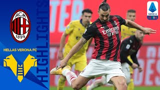 Milan 2-2 Hellas Verona | Zlatan Ibrahimović salvages a late point for Milan! | Serie A TIM