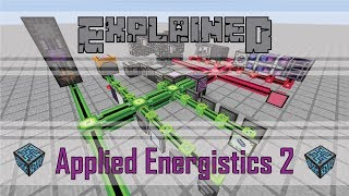 Applied Energistics 2 Explained - CHANNELS