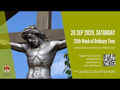 Catholic Weekday Mass Today Online - Saturday, 25th Week of Ordinary Time