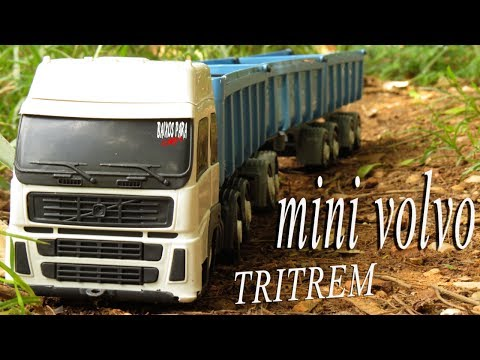 mini volvo  tritrem rebaixado (video clipe) canal baixos para sempre