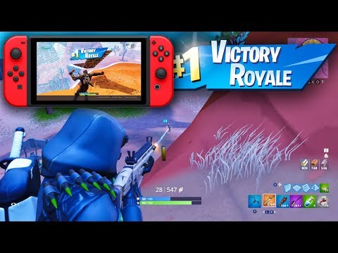 DOMINATING ON NINTENDO SWITCH VICTORY ROYALE! Fortnite Battle Royale Gameplay Ep. 40