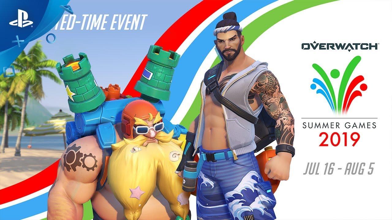 Overwatch 2020 Summer Games.Overwatch Summer Games 2019 Ps4