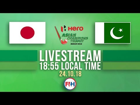 Japan V Pakistan | Men's 2018 Hero Asian Champions Trophy | FULL MATCH LIVESTREAM