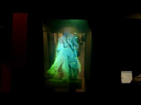 James Clerk Maxwell hologram