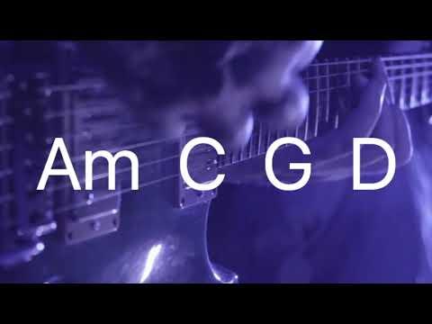 Backing track Am C G D - Soft rock