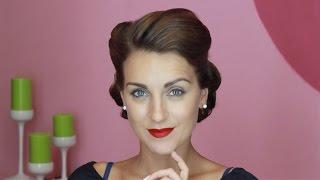 Сто Лет Красоты с All Things Hair - стиль 40-х от Люды Blushsupreme