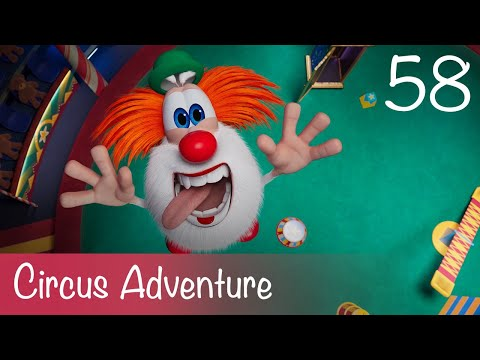 Booba - Circus Adventure - Episode 58 - Cartoon For Kids