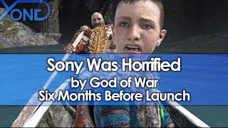 Sony Was Horrified by God of War Six Months Before Launch