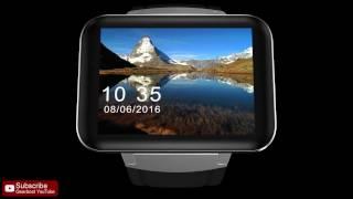 DOMINO DM98 3G Smartwatch Phone - Gearbest.com