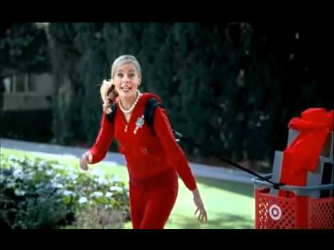 hqdefault crazy target lady preparing (2010 commercial) youtube