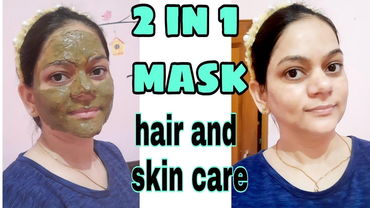 एक ऐसा mask जो आपके hair और skin दोनों के लिए फायदेमंद है🤩/natural hair & skin care/neem leaf powder