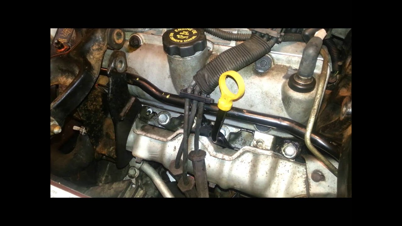 changing spark plugs and wires gm 3 1 3 4 v6 youtube rh youtube com