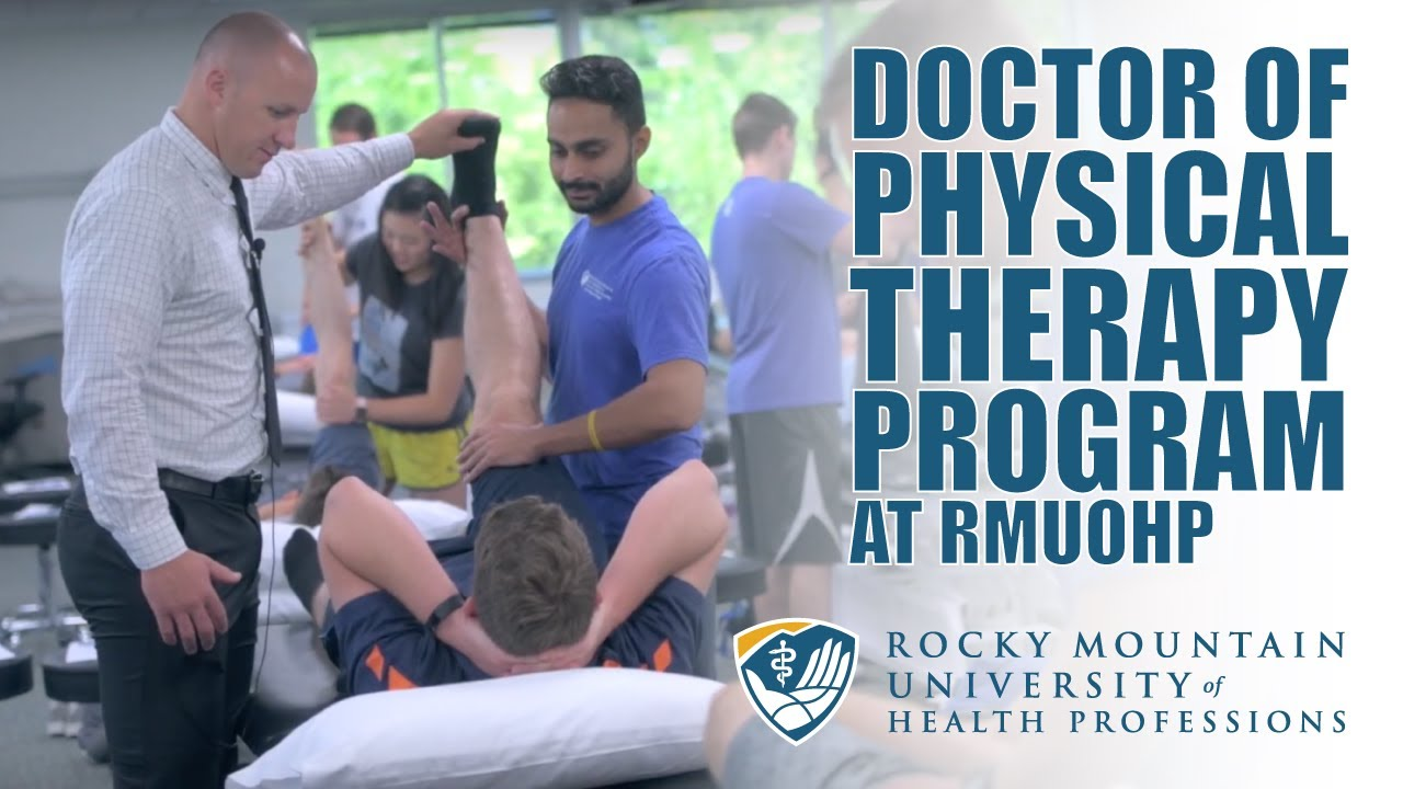 Doctor Of Physical Therapy Dpt Program Rmuohp