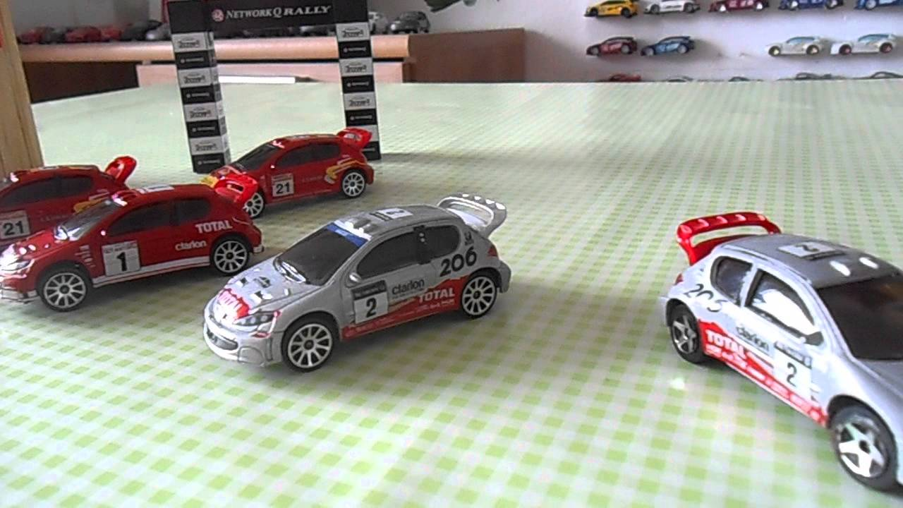 majorette peugeot 206 wrc customs youtube. Black Bedroom Furniture Sets. Home Design Ideas