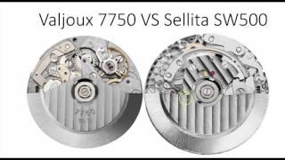 Zapętlaj Cuál es la mejor Maquinaria de Reloj ? Eta 2824 VS Sw200 Sellita Sw500 VS Valjoux - Cuarzo eta VS R | Nicols TV Relojes, Joyas, Diamantes y Gemas