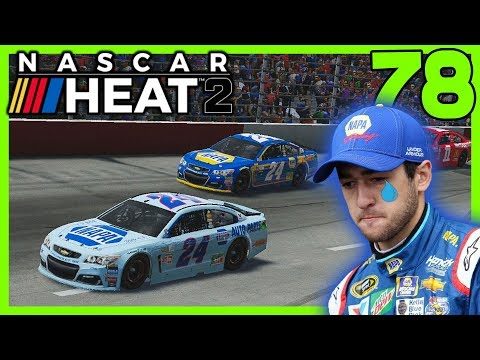 SHOWING CHASE ELLIOTT HOW IT'S DONE! |Cup Series Hot Seat| NASCAR Heat 2 Career Mode S3. Ep. 78