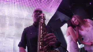 Club music & Saxophone (Live Record)