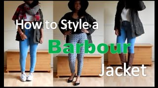 How to Style a Barbour Jacket