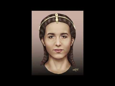 The Face of Pompeii Woman 'Bella Donna' (Artistic Reconstruction)
