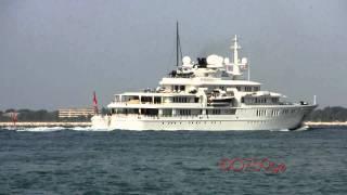 TATOOSH  mega Yacht di lusso di Paul Allen  Venezia 27/08/2011