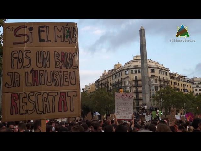Imatges Manifestació Clima Barcelona