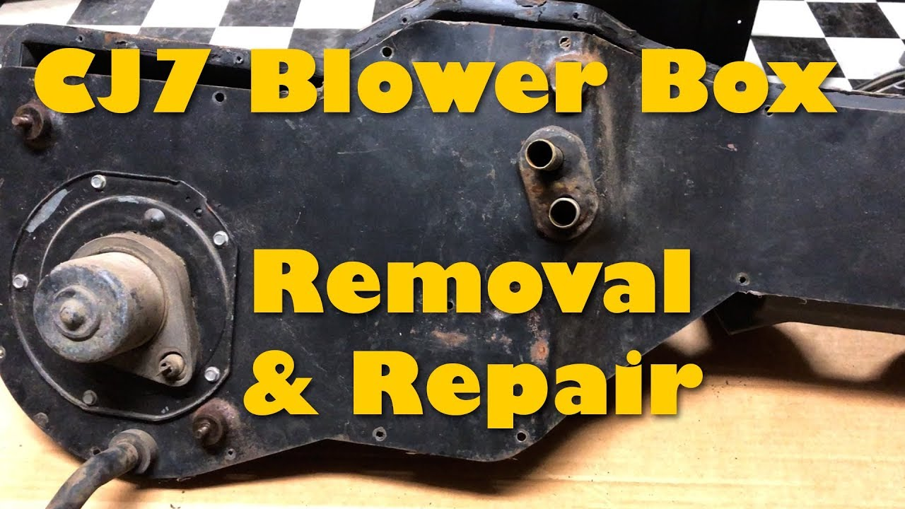 Cj7 Heater Box Removal And Repair
