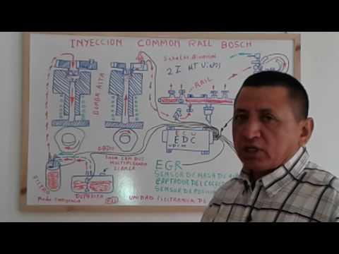 SISTEMA DE INYECCION COMMON RAIL (BOSCH)