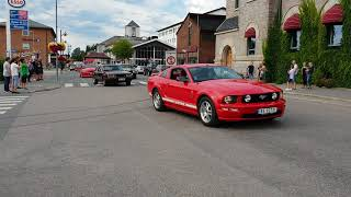 Cruising Mustang Speed Week Elverum