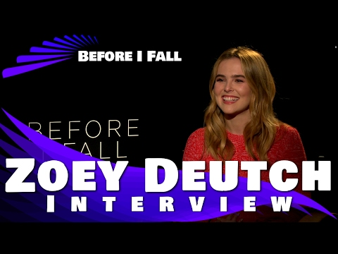 BEFORE I FALL - Zoey Deutch Interview Exclusive
