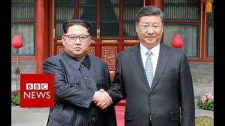 North Korea's Kim Jong-un visits China's Xi- BBC News