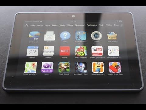 """Amazon Kindle Fire HDX 7"""" Review + Unboxing"""