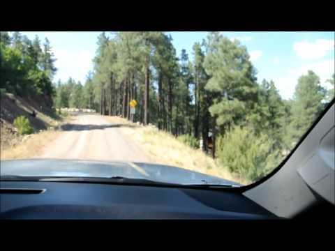 Road to Williams, Arizona cabin