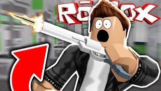 Roblox   Murder Mystery 2   BEST GUN TRICK SHOT EVER!!