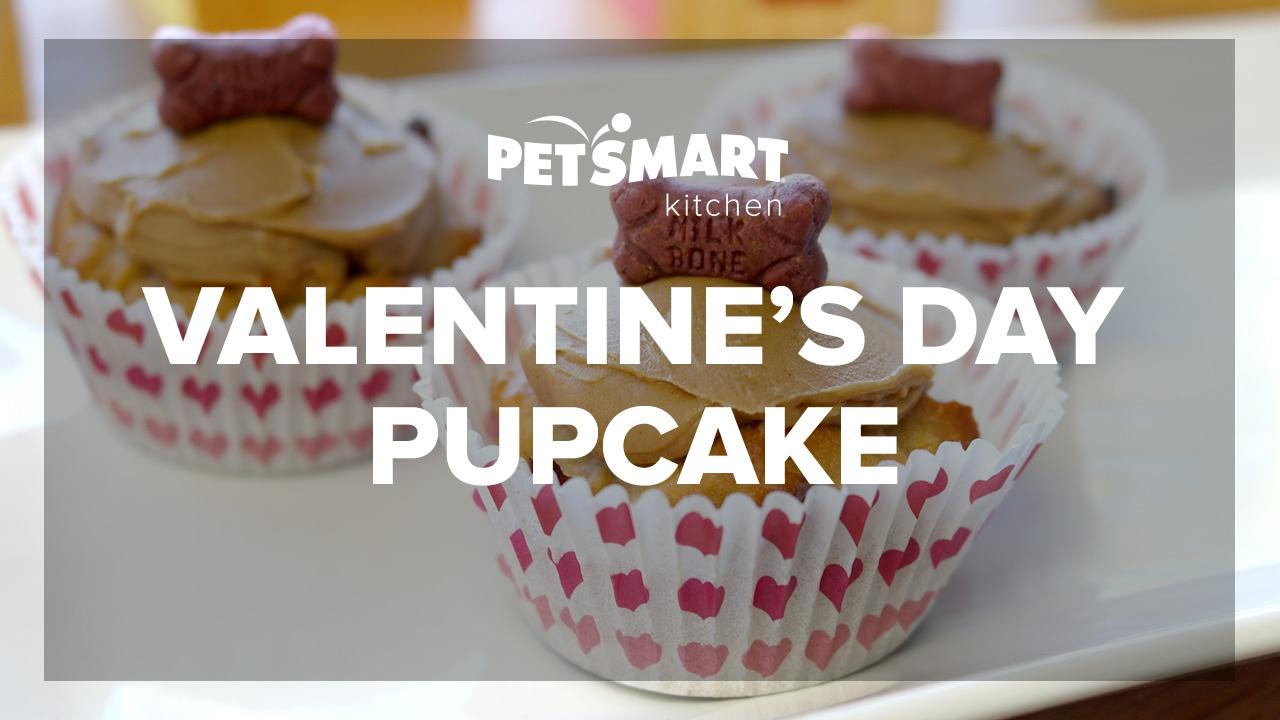 PetSmart Kitchen Valentines Day Pupcake