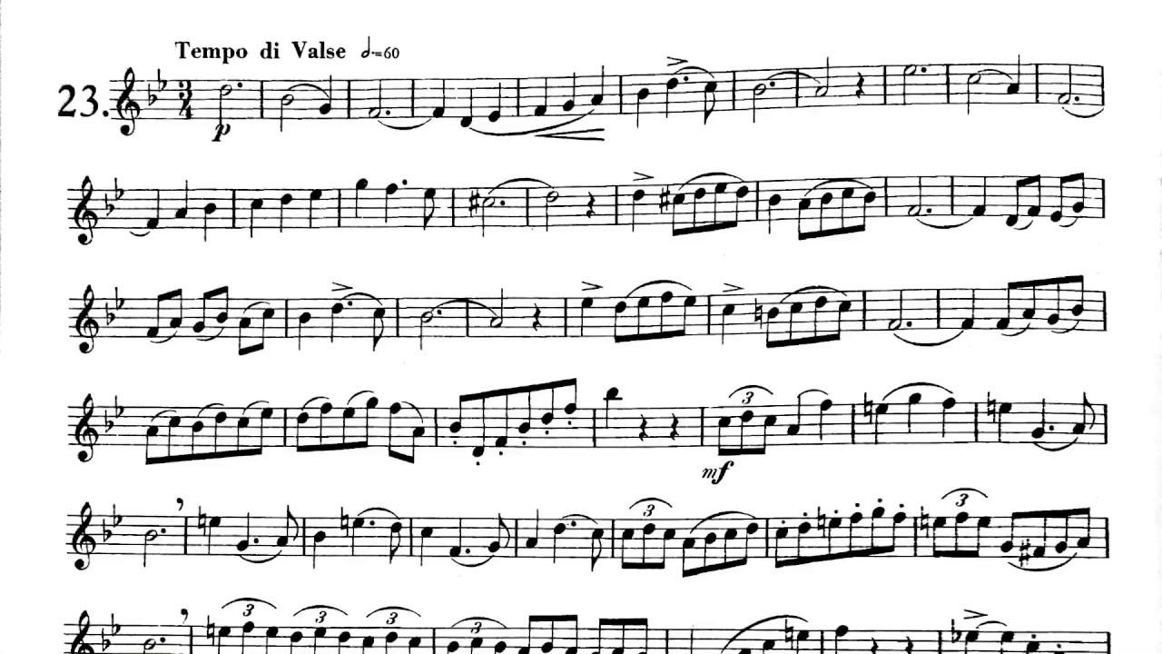 2017-2018 TMEA All-State Trumpet Etude #1
