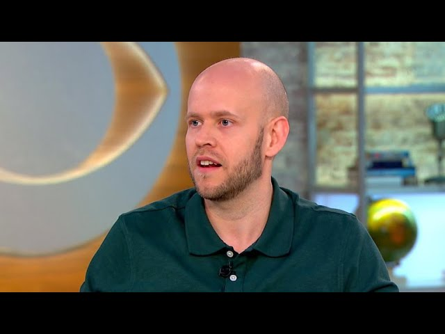 Spotify CEO on going public, convincing Taylor Swift to rejoin