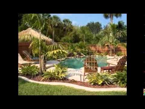 Landscaping Around A Pool YouTube