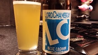 Lord Chambray Blue Lagoon Blanche Beer | Maltese Craft Beer Review