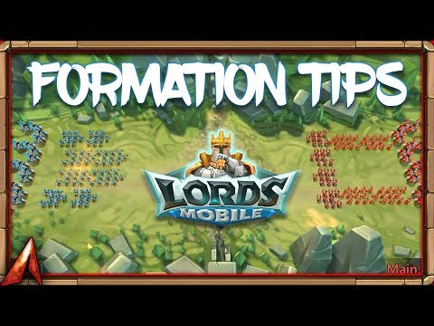 Formation Tips! Phalanx?! Wedge?! Lords Mobile