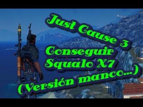 Just Cause 3 Conseguir Escualo X7