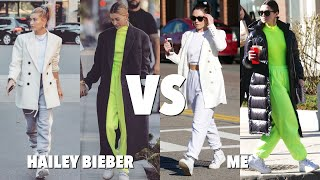RECREATING Hailey Bieber's Street Style For Less