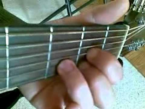 D Major Chord Finger Positions - YouTube