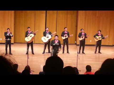 Fresno State University of California mariachi