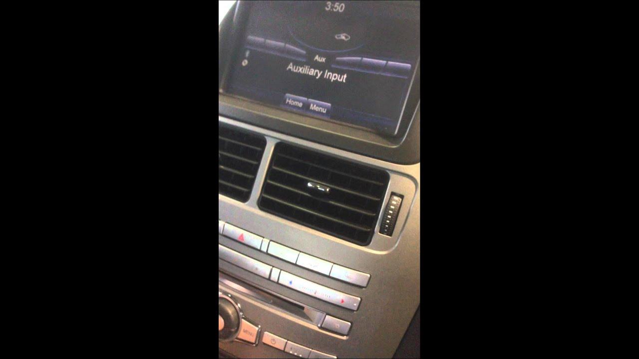 New Ford territory radio unresponsive