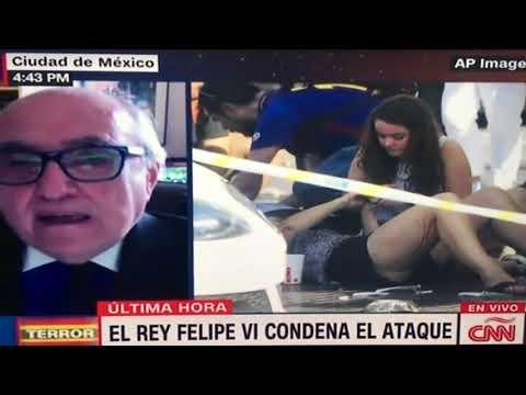 "Alfredo Jalife ""Atentado Terrorista en Barcelona"" entrevista en CNN"